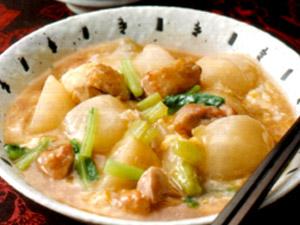 かき玉スープ煮込み